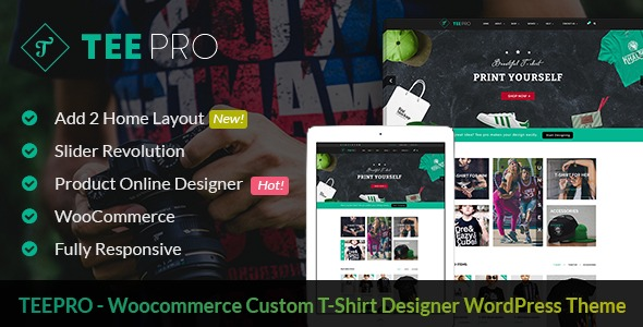 WordPress T-shirt solution