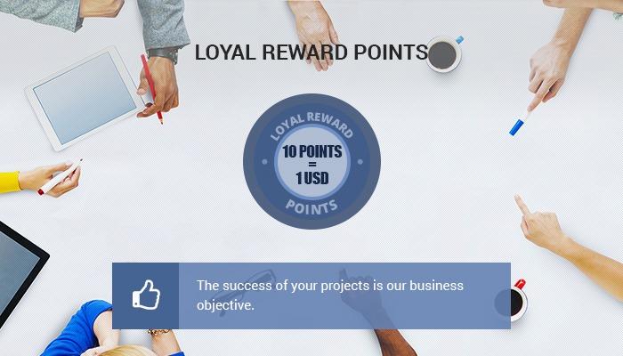 LOYAL REWARD POINTS – apply from 1 Sep, 2015