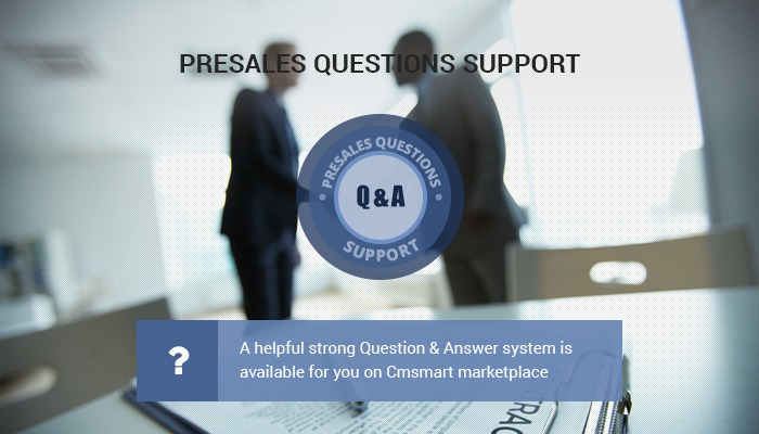 PRESALES QUESTIONS SUPPORT – you must not miss it