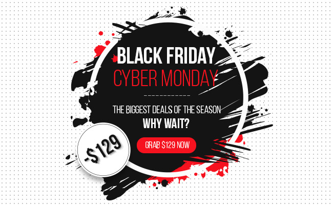 Black Friday & Cyber Monday - The biggest deal season at Cmsmart