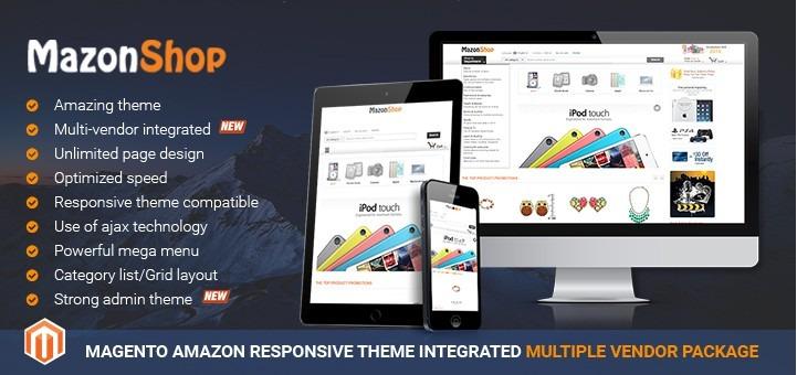 Magento Amazon theme