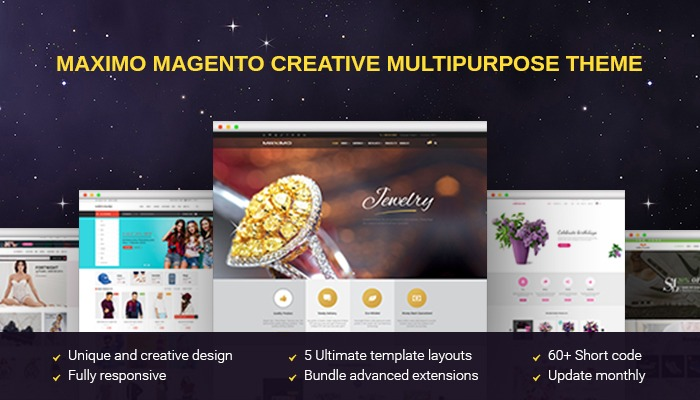 maximo Magento creative multipurpose template