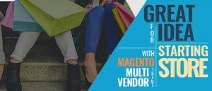 Magento multi vendor theme logo