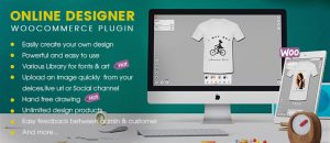 Woocommerce product designer plugin