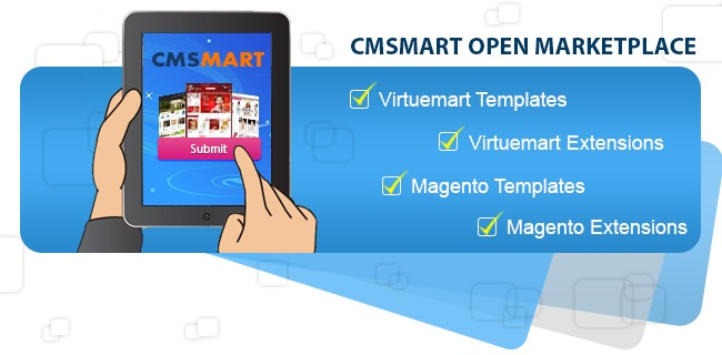 Submit Templates And Extensions On CMSMart.net