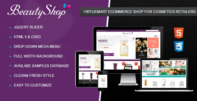 Cmsmart Virtuemart Beauty Shop Template Has Been Released Cmsmart Magento Virtuemart Blogscmsmart Magento Virtuemart Blogs