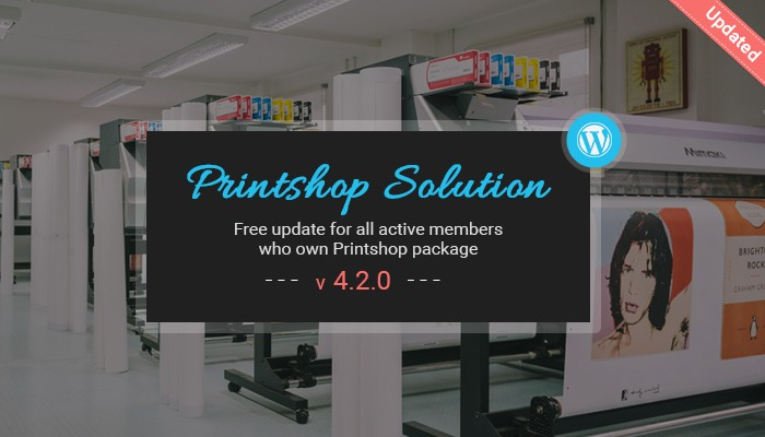 WordPress Printshop theme solution
