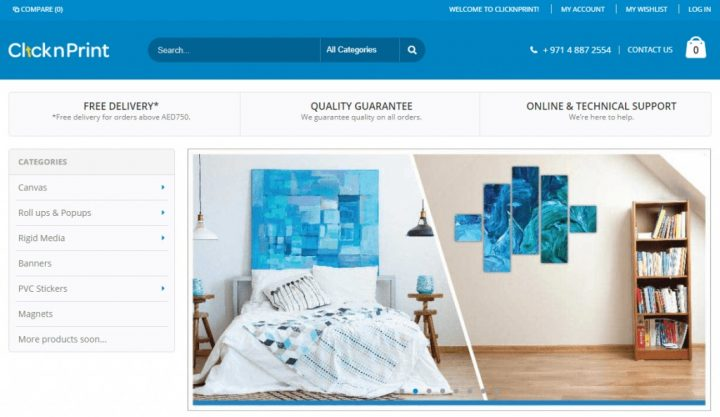 How Dany succeeded with  Magento Printmart Website Theme on Cmsmart?