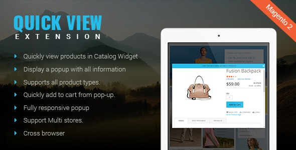 How Magento 2 quick view extension benefits your site?