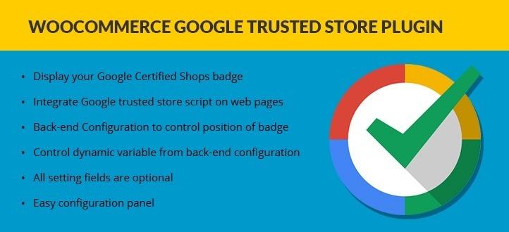 Woocommerce Google trusted store plugin