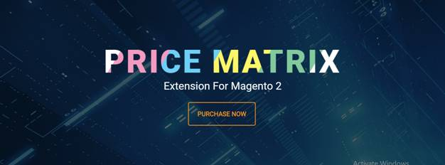 Magento 2 price matrix extension 1