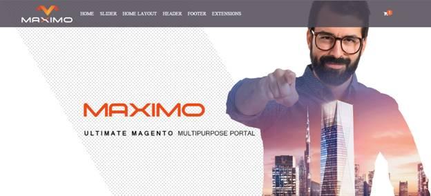 Maximo Magento Creative Multipurpose Theme