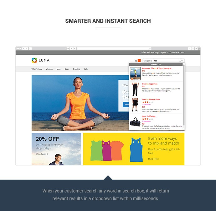 Magento 2 search autocomplete 2