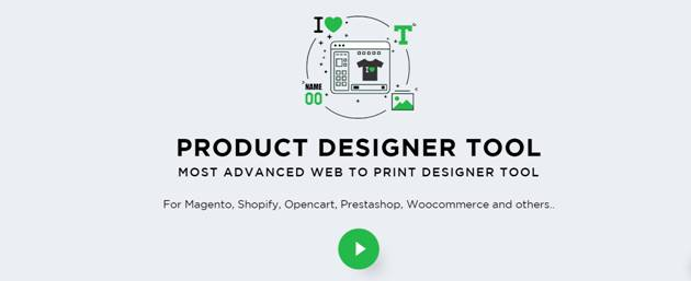 Must have online product designer tools for web to print part 1 with this tool your customers are possible to personalize their products from t shirt jersey mug mobile case business card to other the designer reheart Images