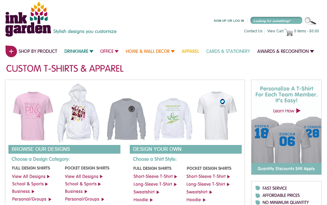The Best T-shirt Printing Webstite and What We Can LearnCMSMART ...