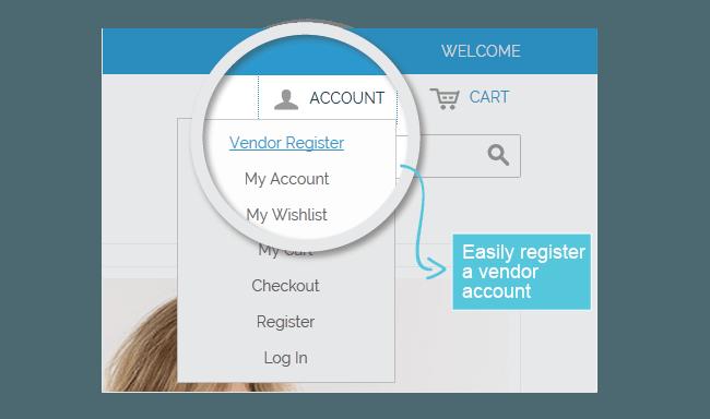 Magento Multi Vendor Register
