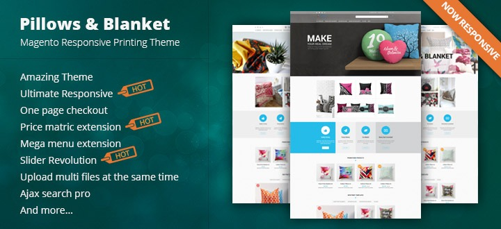 Boom In Printing Industry With Awesome Products In CMSMART - T shirt printing website template