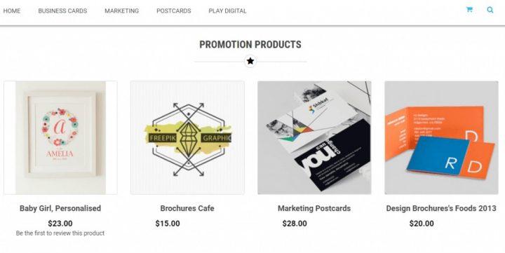 Why Paul Lockington Chose Magento Printmart Website Theme with online design