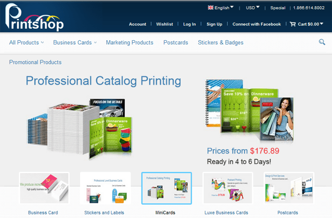 Magento Printing Theme - The best Web-to-print solution - CMSMART ...