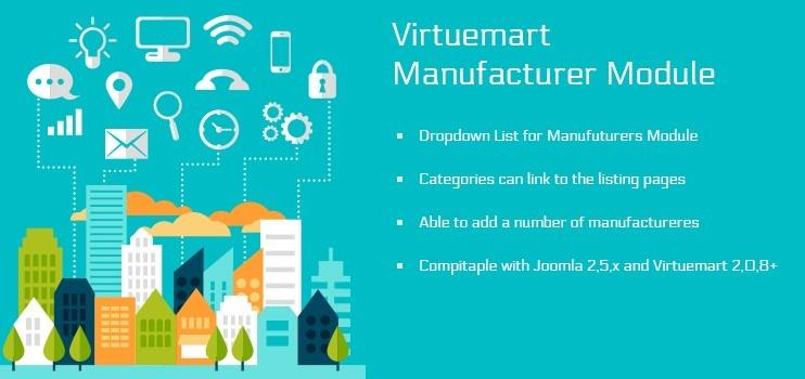 Virtuemart Manufacturer Module