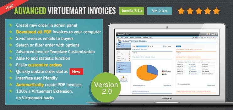 advanced virtuemart invoicescmsmart magento – virtuemart blogs, Invoice examples