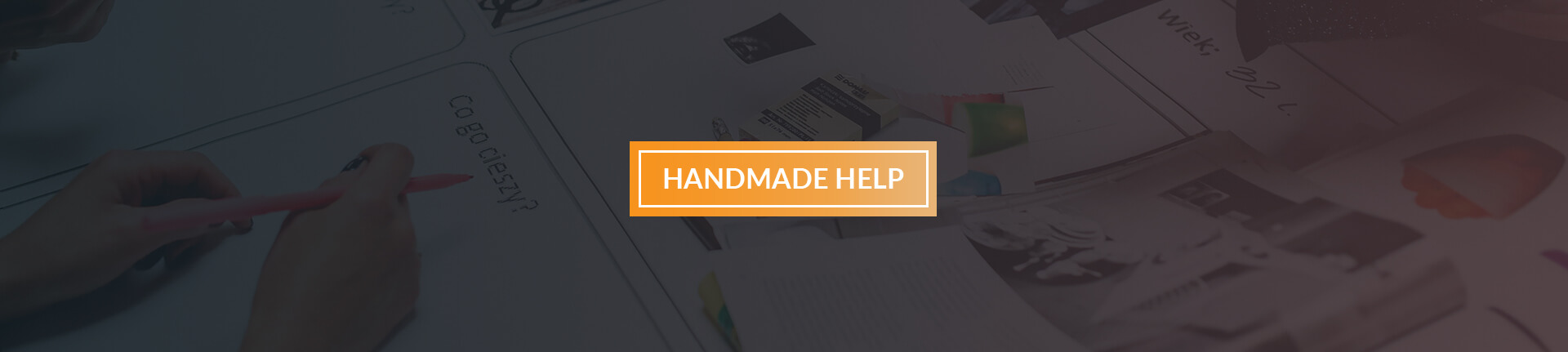 Banner Page Help Handmade Multistore
