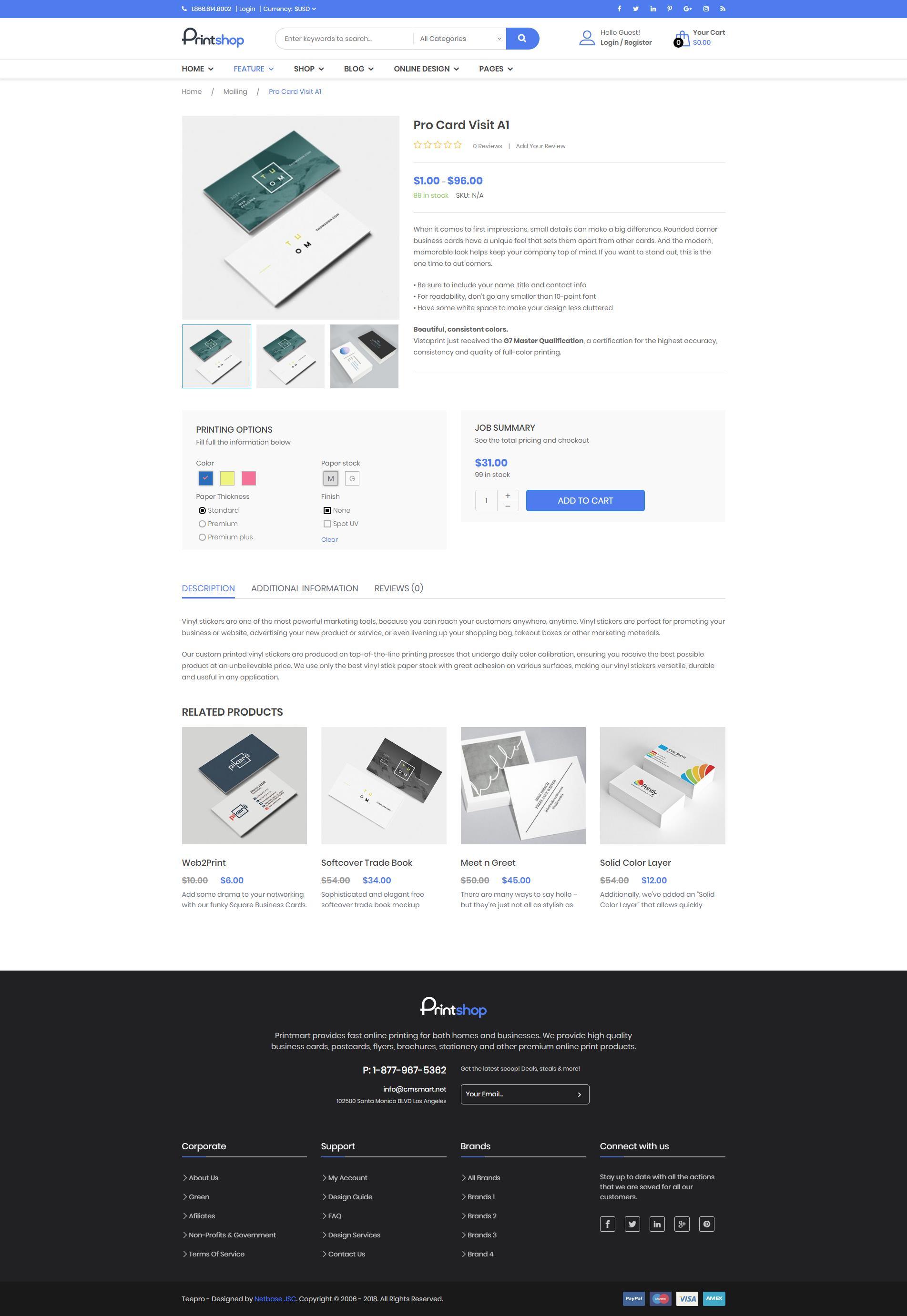 overview wordpress printstore websites with online designer packages. Black Bedroom Furniture Sets. Home Design Ideas