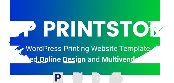 Wordpress PrintStore Websites With Online Designer Packages