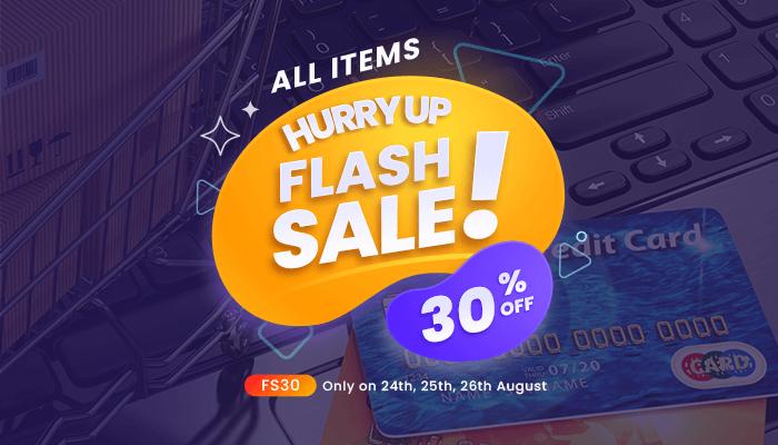 Flash Sale August 2021 Image