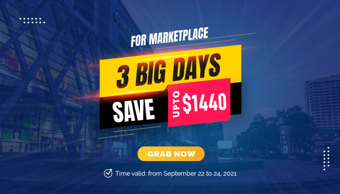3 Big Days For Marketplace, Price Cutting