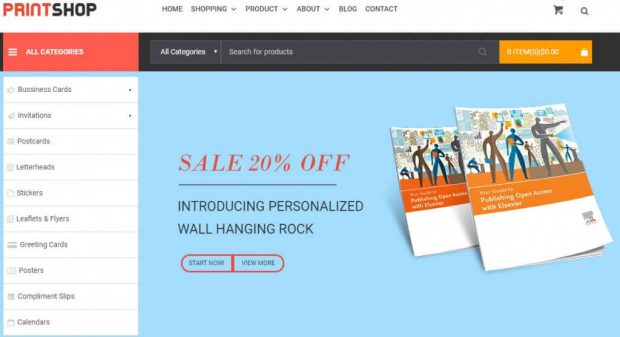 Why Alex Maltby Chose Wordpress Printshop Theme Advanced package For His Business