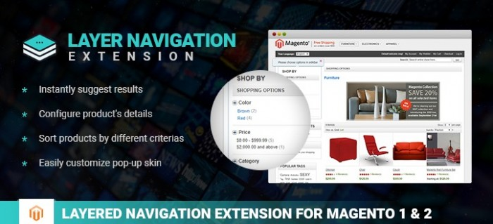 Hot item: Magento 2 Layered Navigation extension