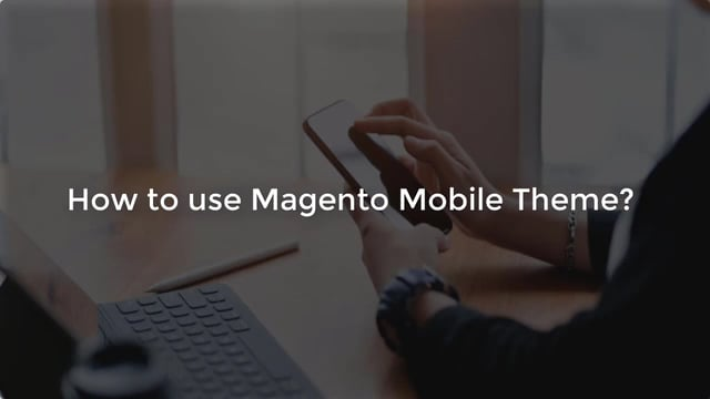 How to use Magento Mobile Theme?