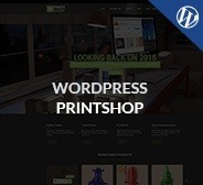 WordPress Printshop