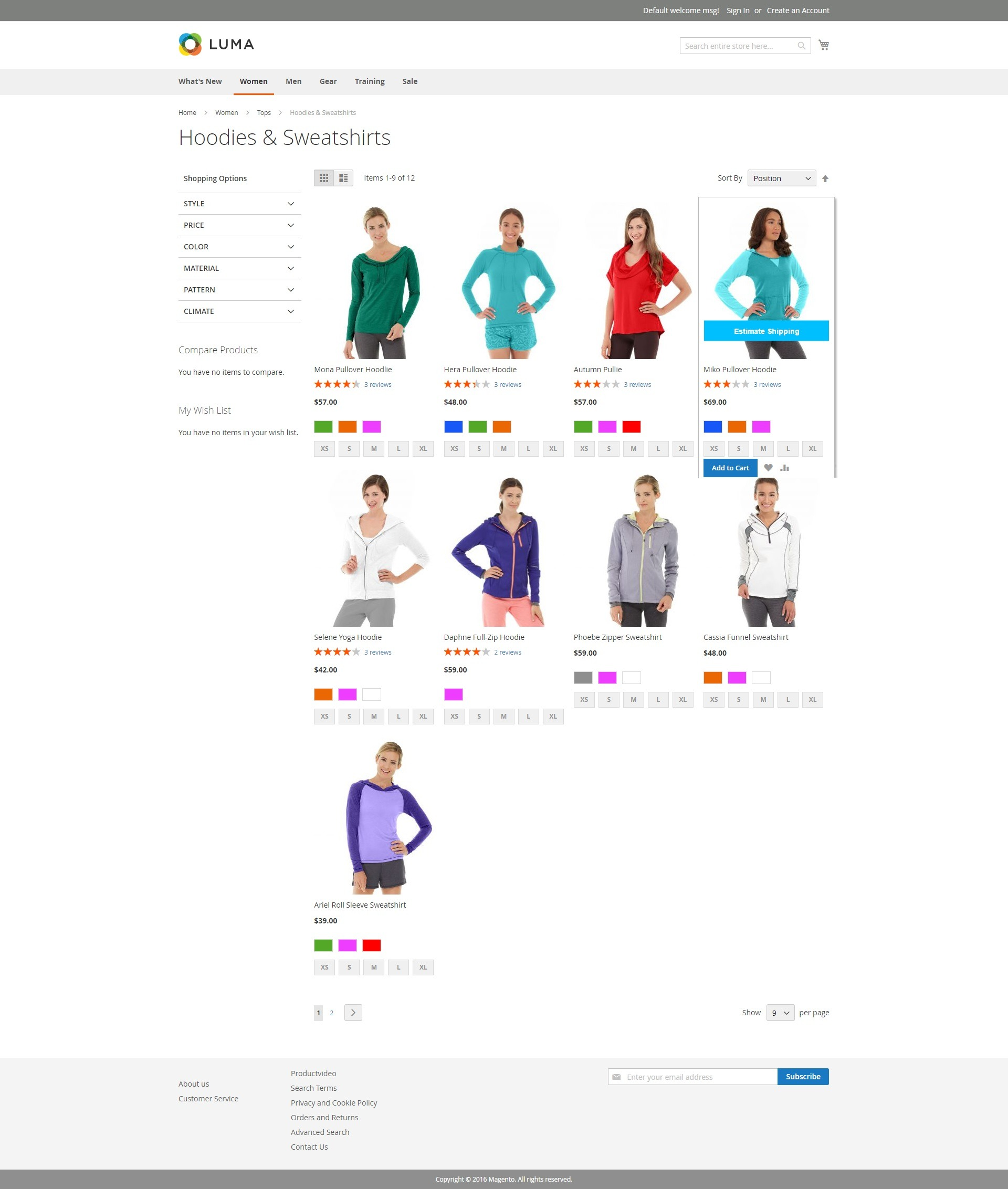DEMO IN CATEGORY PAGE
