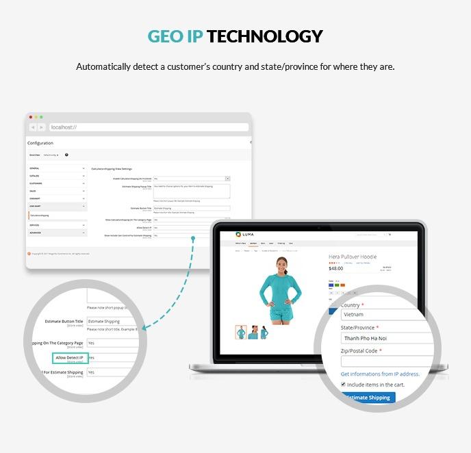 Geo IP technology