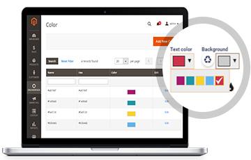 Colors Management