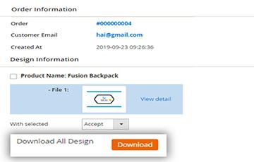Allow Download A Design