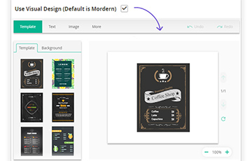 New Visual layout for all products