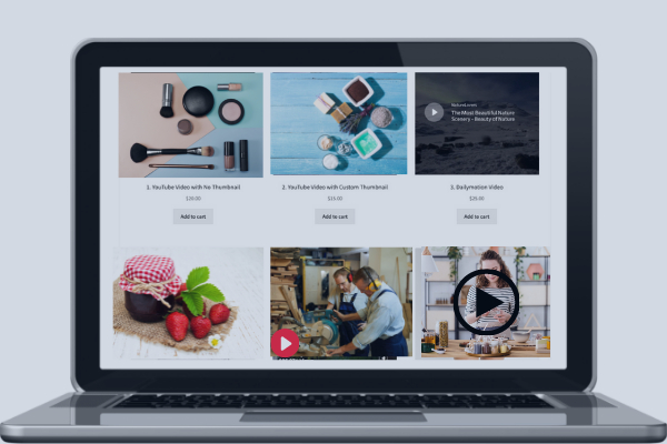 Featured Videos on Listing Pages