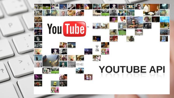 YouTube API usage