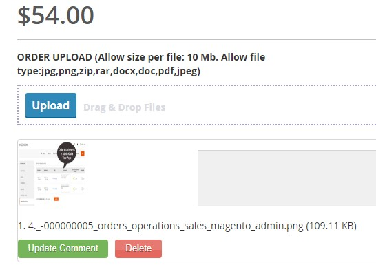 Support attachment upload for multiple files types