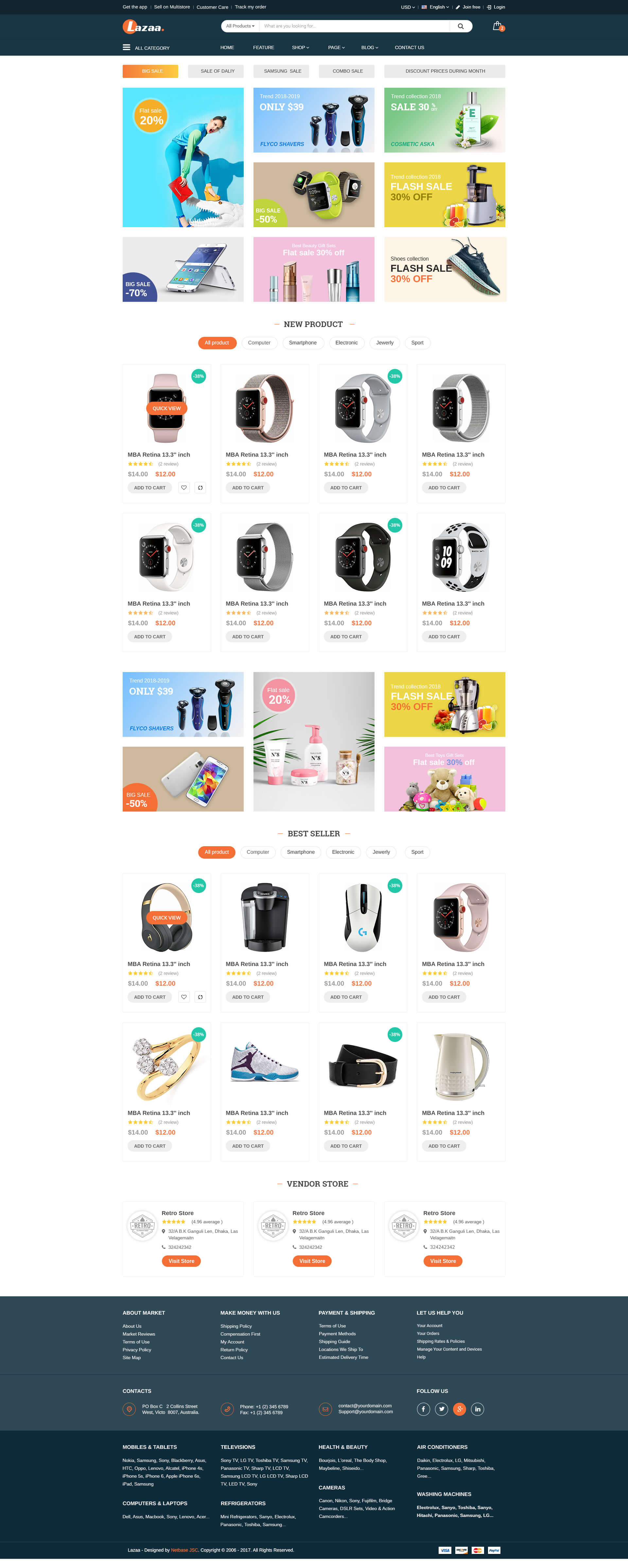 LAZADA HOME PAGE