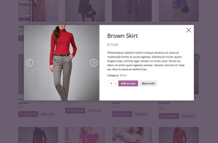 WOOCOMMERCE PRODUCT QUICKVIEW