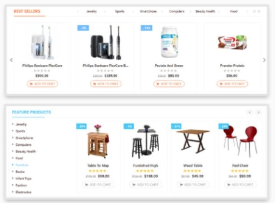 Unlimitted Product Display on Marketplace