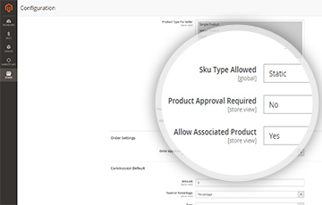 ADMIN ALLOW ASSOCIATED PRODUCT