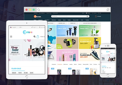 Mobile Compatible Magento Store