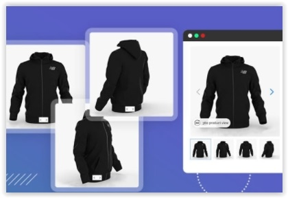 360° product viewer