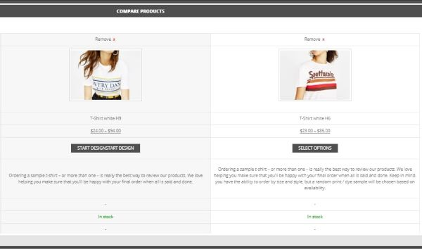 WOO-COMMERCE COMPARE