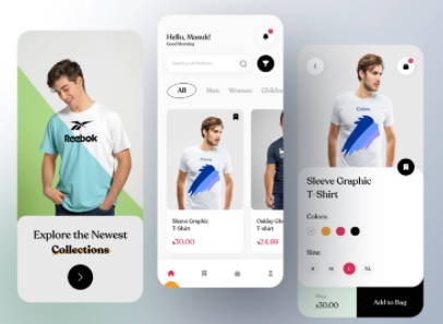 T Shirt Mobile App Development